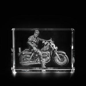 2D auf 3D Motorrad
