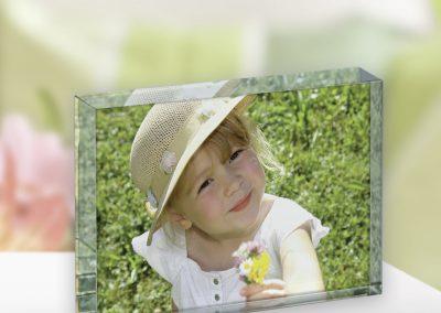 Foto auf Glas