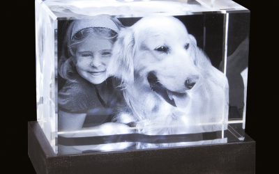 Das 3D Foto in Glas ist die Krönung