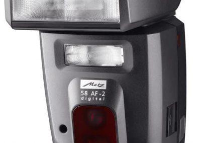 Blitzgerät: Metz 58 AF-2 für Nikon