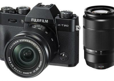 Fujifilm X-T20-Kit-XC-16-50-50-230mm-schwarz