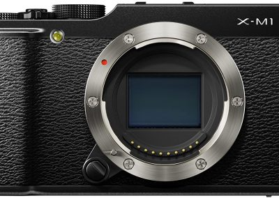 Fujifilm X-M1 kompakte Systemkamera, Gehäuse, schwarz