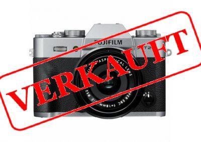 Fujifilm X-T20 Silber + XF 18-55 mm