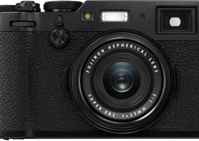 Fujifilm X100F Kompaktkamera mit 24,3 Megapixel X-Trans CMOS III Sensor