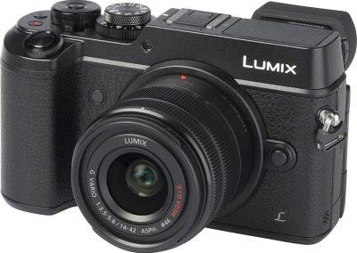 Panasonic Lumix DMC-GX8K EG-K schwarz + 14-42mm II OiS Schwarz